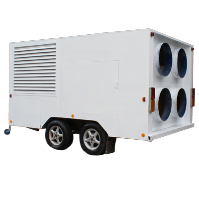 trailer mounted air conditioner